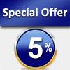 Offerta Speciale – 5%